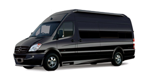 Luxury Mercedes Sprinter Van LaGuardia airport limo