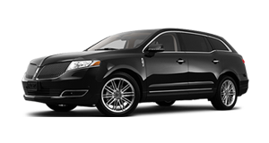 Luxury Lincoln Sedan Near By Transportation