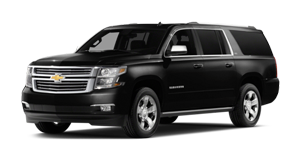 Luxury Chevrolet Suburban SUV Hourly Limo