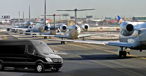 JFK Luxury Van Transport Business Airport Service NY City Limo