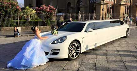 Wedding Porsche Limo Service NYC
