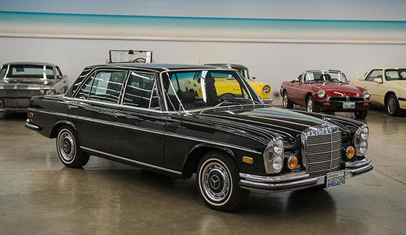 Classic 1972 mercedes