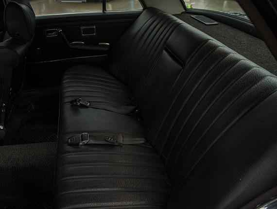 Classic 1972 mercedes interior
